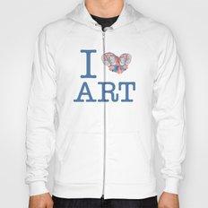 I Heart Art Hoody
