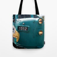 Train In Your Face Tote Bag