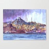 Eminönü Skyline Canvas Print