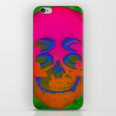 the 4i skull stencil art - 3D iPhone & iPod Skin