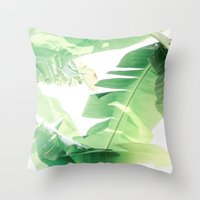 Jungle Abstract II Throw Pillow