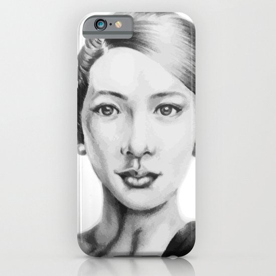 Asian beauty iPhone & iPod Case