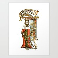 Richard II - Shakespeare… Art Print