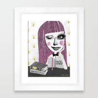 I Think Therefore I Am..… Framed Art Print