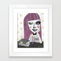 I think therefore I am... single Framed Art Print