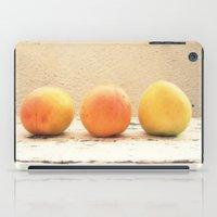 3 Apricots iPad Case