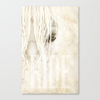 Canvas Print featuring Ride by Travis Weerts