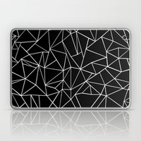 Abstraction Outline Blac… Laptop & iPad Skin
