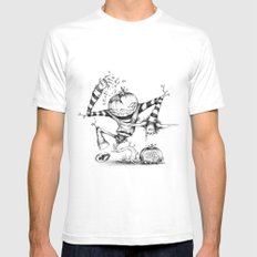 Freddy Pumpkins Mens Fitted Tee White SMALL