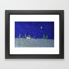 Night scenes Framed Art Print