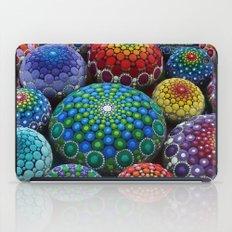 Jewel Drop Mandala Stone Collection #1 iPad Case