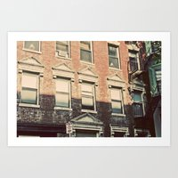 The other side of Beacon Hill Art Print