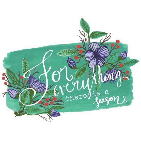 For Everything a Season Art Print