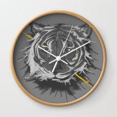 tiger. Wall Clock
