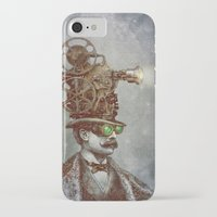 lights iPhone & iPod Cases featuring The Projectionist (colour option) by Eric Fan
