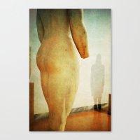 Statues Are Alive Canvas Print