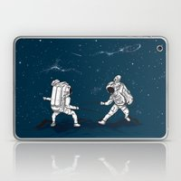 Fencing at a higher Level Laptop & iPad Skin