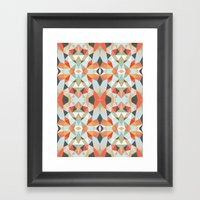 Island Tribal Framed Art Print