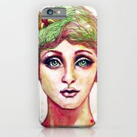 iPhone & iPod Case featuring Steampunk Girl by BPARSH