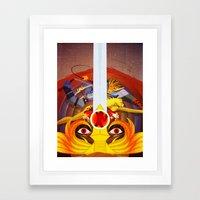 HO Framed Art Print