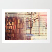 Endless Amount Of Storie… Art Print
