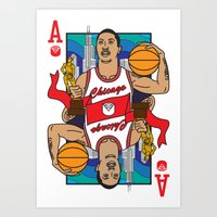 Chicago's Ace Art Print