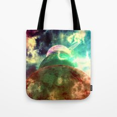 Meanwhile, Somewhere In … Tote Bag