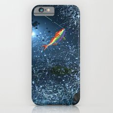 FISHING_SPLASH iPhone 6 Slim Case