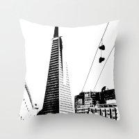 Love San Francisco Throw Pillow