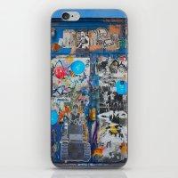 Graffiti Door NYC iPhone & iPod Skin
