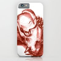 Sketchy Skull iPhone 6 Slim Case