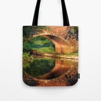Sunlight Bridge Tote Bag