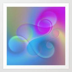color whirl -1- Art Print