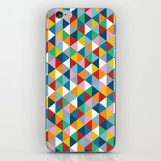 Triangles of Colour iPhone & iPod Skin