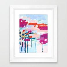 Asking for Directions Framed Art Print