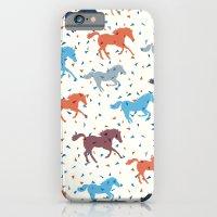 Horse Print iPhone 6 Slim Case