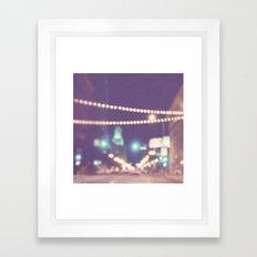 Sparkle No.2. Downtown L… Framed Art Print