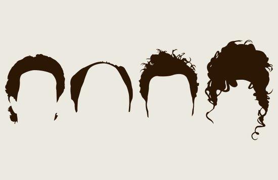 Seinfeld Hair Canvas Print