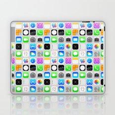 Phone Apps (Flat design) Laptop & iPad Skin