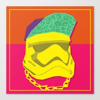Fresh Trooper Canvas Print