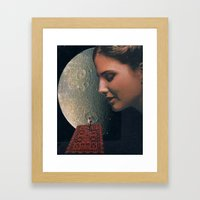 magic carpet Framed Art Print