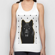 Just Wolf. Unisex Tank Top