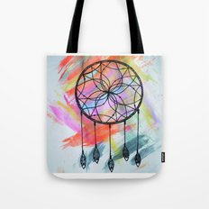 Catching Paint - Dream Catcher Tote Bag