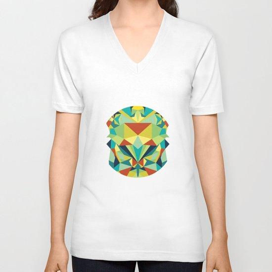 Colorful All V-neck T-shirt