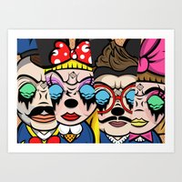 The Mickey Mouse Club Art Print