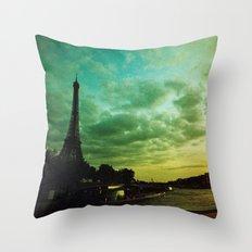 Paris Xpro Throw Pillow