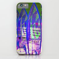 Surfing Pop Art iPhone 6 Slim Case