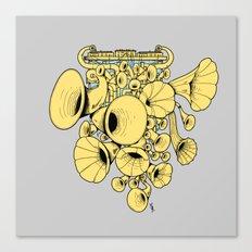 Gramophone DJ Canvas Print