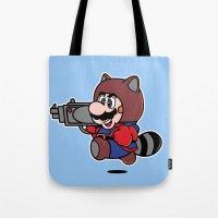 Rocket Tanooki  Tote Bag