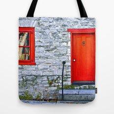 Winchester Red Door Tote Bag